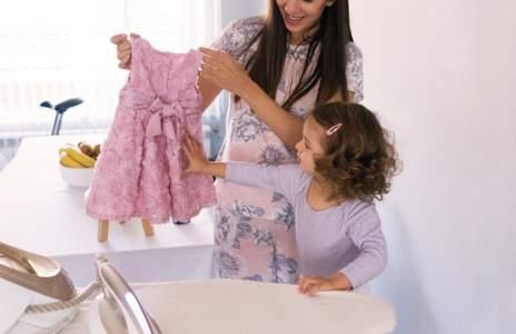Вече никога няма да кажа, че някоя рокля се глади трудно!